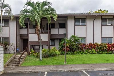 Pearl City Condo/Townhouse For Sale: 96-226 Waiawa Road #49
