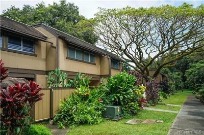Kaneohe Condo/Townhouse For Sale: 47-740 Hui Kelu Street #1302