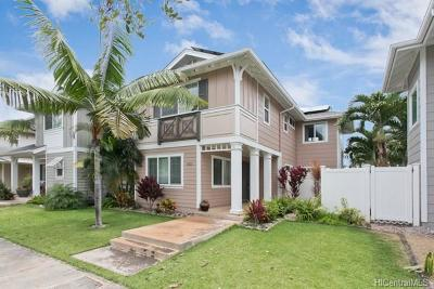 Ewa Beach Single Family Home For Sale: 91-1265 Kaileolea Drive