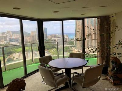 Hawaii County, Honolulu County Condo/Townhouse For Sale: 1860 Ala Moana Boulevard #PH 2300