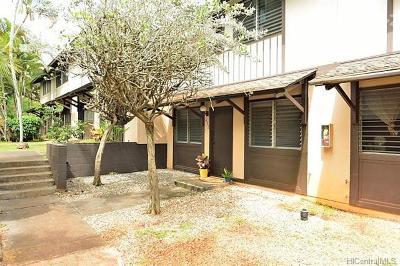 Mililani Condo/Townhouse In Escrow Showing: 94-1432 Lanikuhana Avenue #472