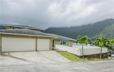 Kaneohe Single Family Home For Sale: 45-496 Malio Place