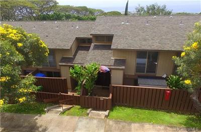 Condo/Townhouse For Sale: 92-1032 Makakilo Drive #32