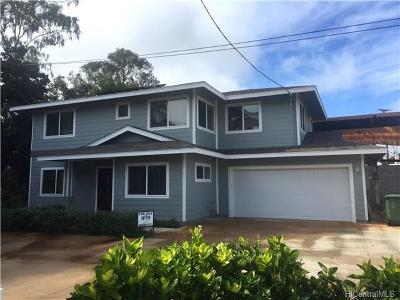 Wahiawa Single Family Home For Sale: 233 Walker Avenue #B