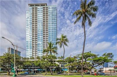 Honolulu Condo/Townhouse For Sale: 909 Kapiolani Boulevard #2202