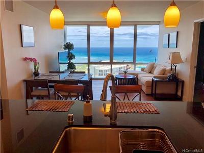 Hawaii County, Honolulu County Rental For Rent: 1189 Waimanu Street #3802
