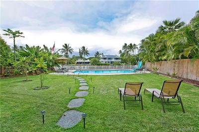 Kailua Multi Family Home For Sale: 885 Akiu Place