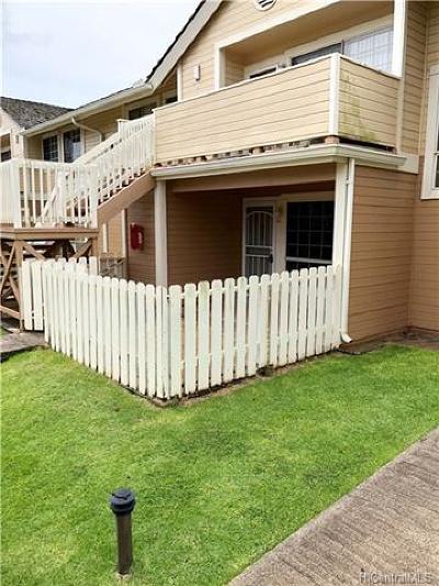 Waipahu Condo/Townhouse For Sale: 94-1481 Waipio Uka Street #E106