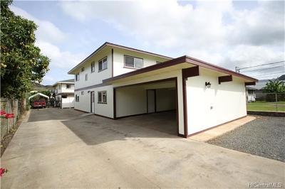 Waianae Single Family Home For Sale: 87-122 Auyong Hmstd Road #1