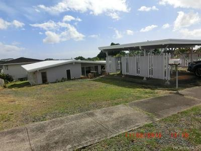 Single Family Home In Escrow Showing: 2247 Aumakua Street