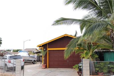 Waianae HI Single Family Home For Sale: $475,000