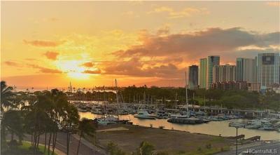 Honolulu Condo/Townhouse For Sale: 1684 Ala Moana Boulevard #651