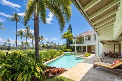 Single Family Home For Sale: 949 Kealaolu Place