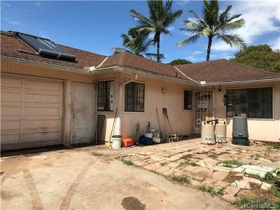 Ewa Beach Single Family Home For Sale: 91-115 Manokihikihi Way