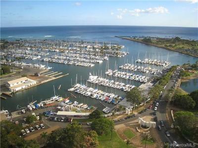 Hawaii County, Honolulu County Rental For Rent: 1600 Ala Moana Boulevard #2908