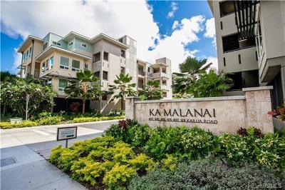 Kailua Condo/Townhouse For Sale: 501 Kailua Road #1202