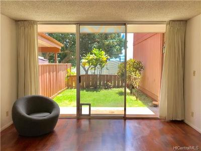 Mililani Condo/Townhouse For Sale: 95-322 Kaloapau Street #128