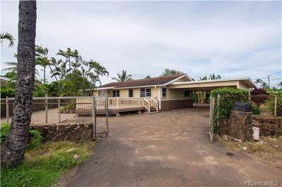 Ewa Beach Single Family Home For Sale: 91-420 Pupu Street
