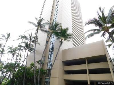 Hawaii County, Honolulu County Rental For Rent: 2121 Ala Wai Boulevard #2704