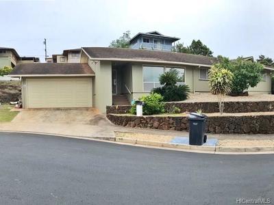 Honolulu Single Family Home For Sale: 1158 Ala Hinano Place