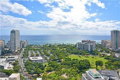 Hawaii County, Honolulu County Rental For Rent: 421 Olohana Street #PH-1