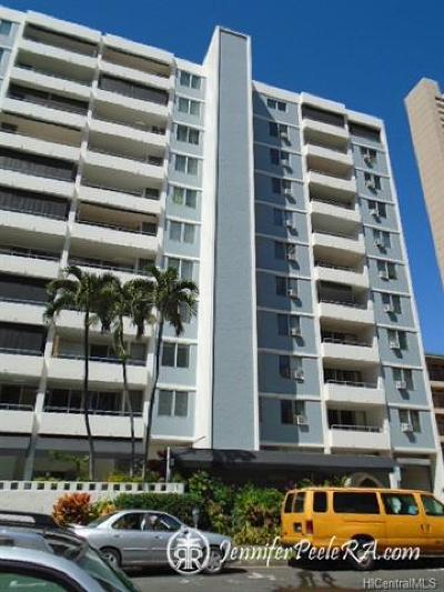 Hawaii County, Honolulu County Rental For Rent: 430 Kaiolu Street #402