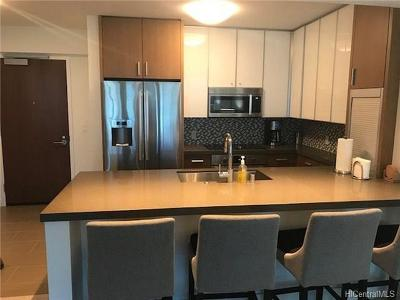 Hawaii County, Honolulu County Rental For Rent: 600 Ala Moana Boulevard #4007