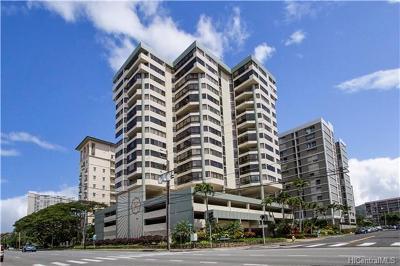 Honolulu Condo/Townhouse For Sale: 1760 S Beretania Street #15C