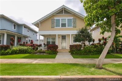 Ewa Beach Single Family Home For Sale: 91-1091 Kai Oio Street