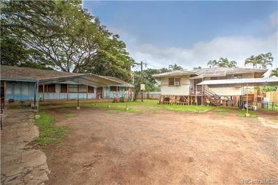Haleiwa Single Family Home For Sale: 66-506 Paalaa Road