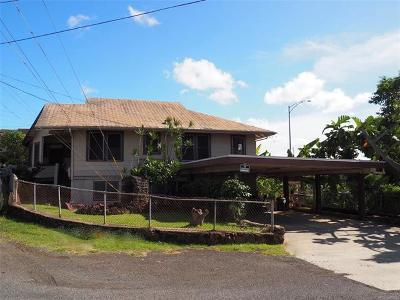 Aiea Single Family Home For Sale: 99-241 Ulune Street