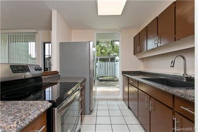 Mililani Condo/Townhouse In Escrow Showing: 94-206 Noholoa Court #33