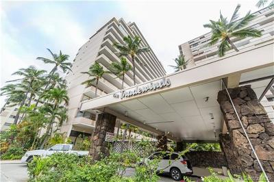 Honolulu Condo/Townhouse For Sale: 1720 Ala Moana Boulevard #805A