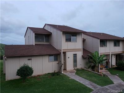 Kapolei Condo/Townhouse For Sale: 92-1043 Makakilo Drive #88