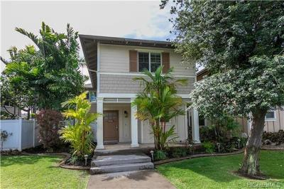 Ewa Beach Single Family Home For Sale: 91-1201 Kaileolea Drive