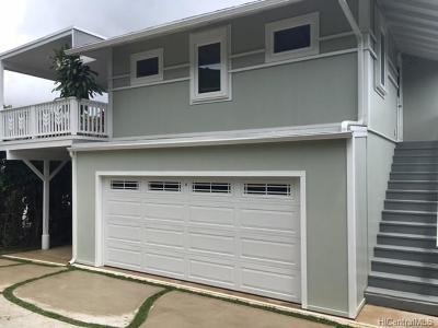 Honolulu HI Single Family Home For Sale: $1,550,000