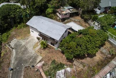 Honolulu HI Single Family Home For Sale: $2,200,000