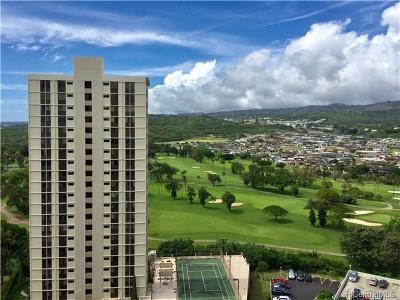 Central Oahu, Diamond Head, Ewa Plain, Hawaii County, Hawaii Kai, Honolulu County, Kailua, Kaneohe, Kau, Kauai, Leeward Coast, Makakilo, Maui, Metro Oahu, Molokai, N. Kohala, N. Kona, North Shore, Pearl City, Puna, S. Hilo, S. Kohala, S. Kona, Waipahu Condo/Townhouse For Sale: 1128 Ala Napunani Street #1802