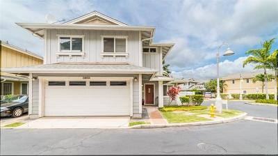 Central Oahu, Diamond Head, Ewa Plain, Hawaii Kai, Honolulu County, Kailua, Kaneohe, Leeward Coast, Makakilo, Metro Oahu, N. Kona, North Shore, Pearl City, Waipahu Single Family Home For Sale: 87-2095 Pakeke Street #25