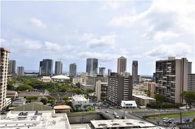 Honolulu Condo/Townhouse For Sale: 1425 Ward Avenue #9E