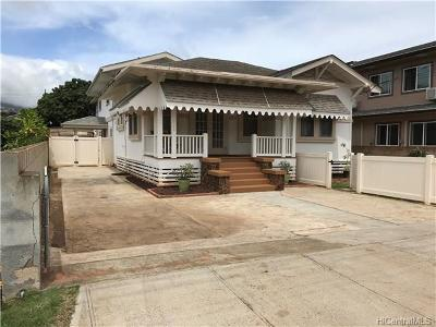 Central Oahu, Diamond Head, Ewa Plain, Hawaii Kai, Honolulu County, Kailua, Kaneohe, Leeward Coast, Makakilo, Metro Oahu, N. Kona, North Shore, Pearl City, Waipahu Single Family Home For Sale: 3142 Olu Street