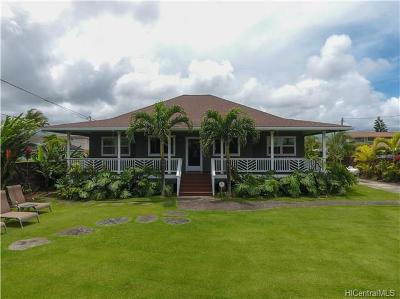 Central Oahu, Diamond Head, Ewa Plain, Hawaii Kai, Honolulu County, Kailua, Kaneohe, Leeward Coast, Makakilo, Metro Oahu, N. Kona, North Shore, Pearl City, Waipahu Single Family Home For Sale: 249 N Kainalu Drive