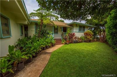 Single Family Home For Sale: 84-683 Lahaina Street