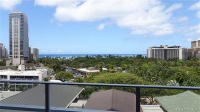Honolulu County Condo/Townhouse For Sale: 383 Kalaimoku Street #908