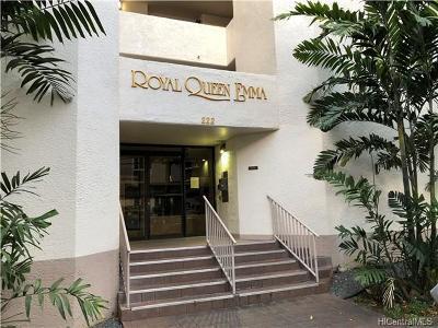 Honolulu Condo/Townhouse For Sale: 222 Vineyard Street #304