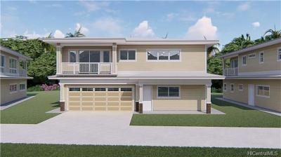 Single Family Home For Sale: 47-285 Waihee Road #B