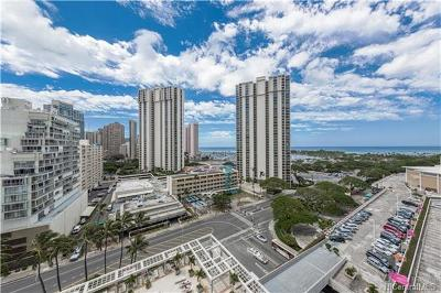 Honolulu Condo/Townhouse For Sale: 410 Atkinson Drive #1313