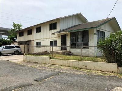Single Family Home For Sale: 94-1067 Kahuamoku Street