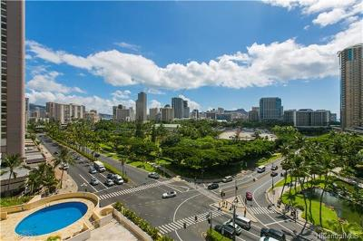 Hawaii County, Honolulu County Condo/Townhouse For Sale: 1860 Ala Moana Boulevard #1006
