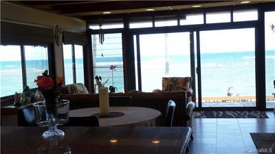 Waialua Single Family Home For Sale: 68-177 Au Street